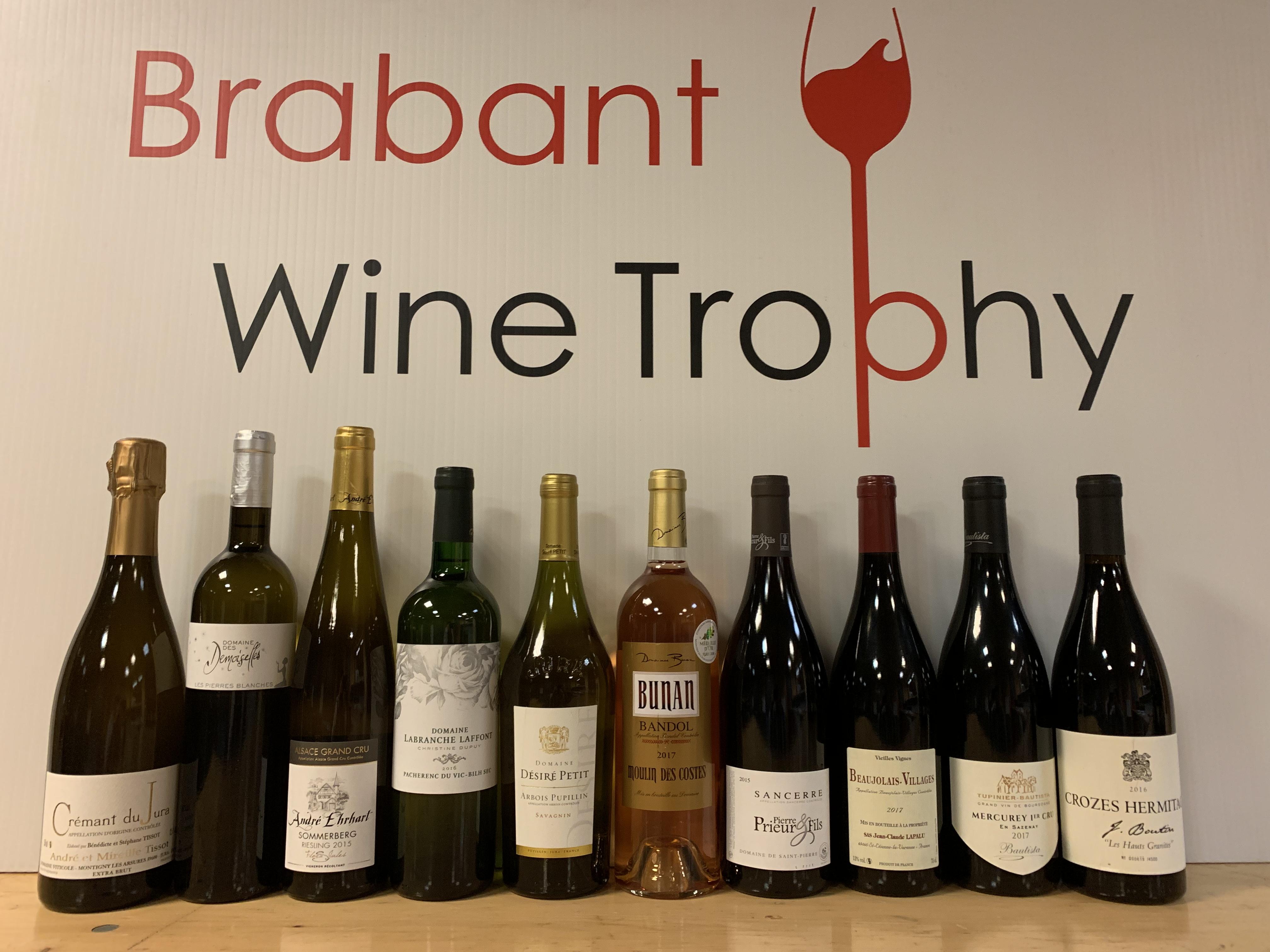 Brabant Wine Trophy: Les 10 Vins Du Brabant Wine Trophy 2019